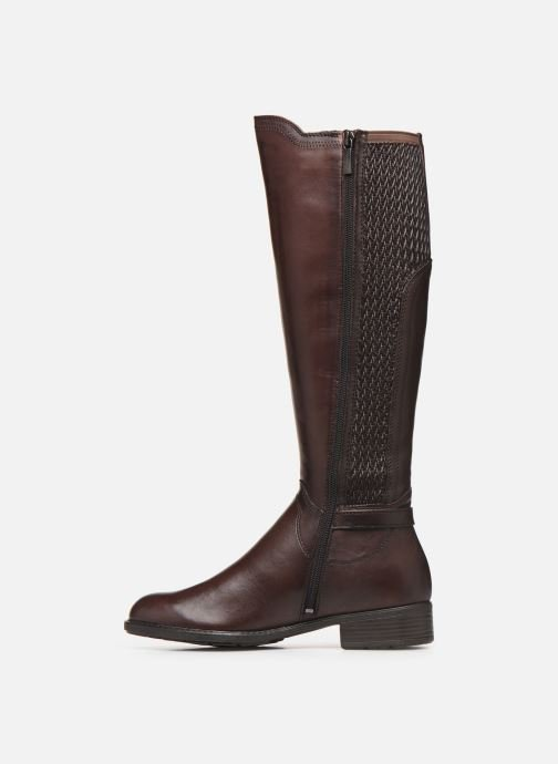 Bottes Tamaris TONA NEW Marron vue face