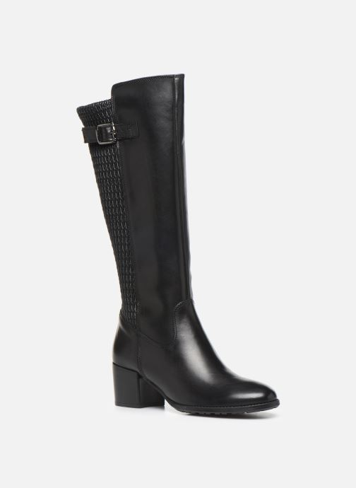 Boots & wellies Tamaris Fany Black detailed view/ Pair view