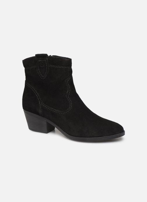 Ankelstøvler Tamaris Dasy Sort detaljeret billede af skoene