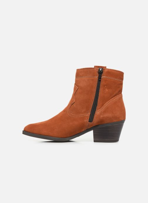 Bottines et boots Tamaris Dasy Marron vue face
