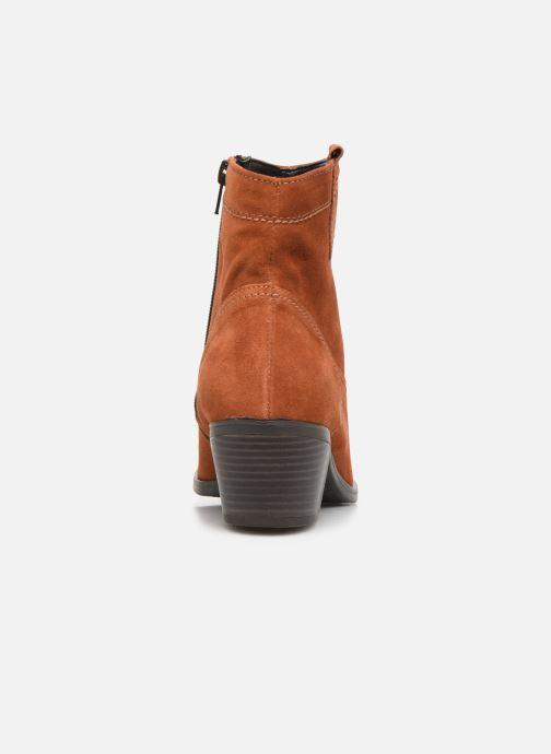 Bottines et boots Tamaris Dasy Marron vue droite