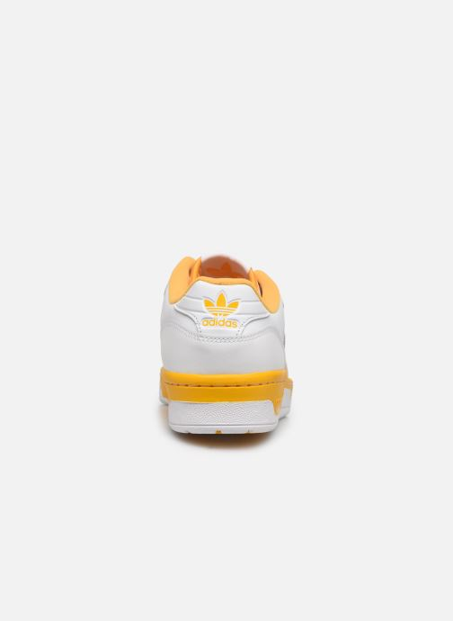 Deportivas adidas originals Rivalry Low Blanco vista lateral derecha