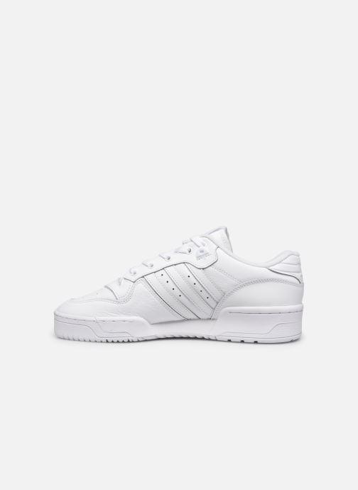 Sneakers adidas originals Rivalry Low Wit voorkant