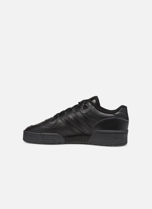 Baskets adidas originals Rivalry Low Noir vue face