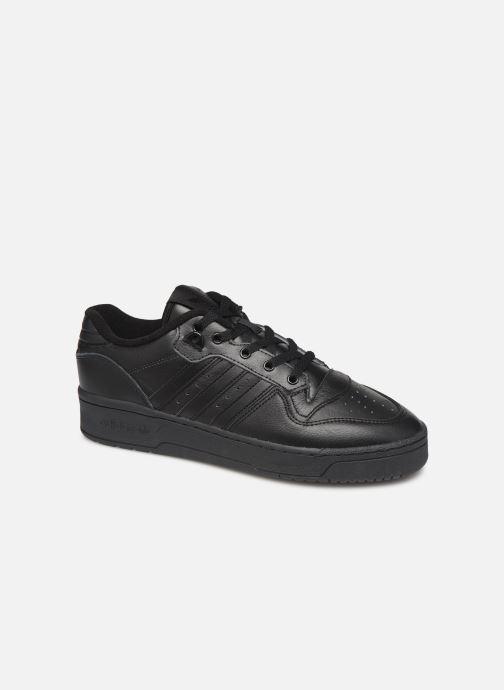 Baskets adidas originals Rivalry Low Noir vue détail/paire