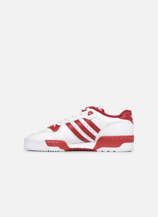 Sneakers adidas originals Rivalry Low Hvid se forfra
