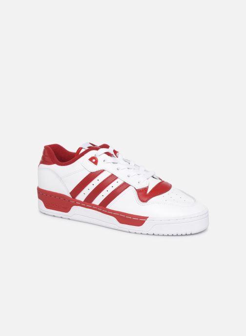 Sneakers adidas originals Rivalry Low Hvid detaljeret billede af skoene