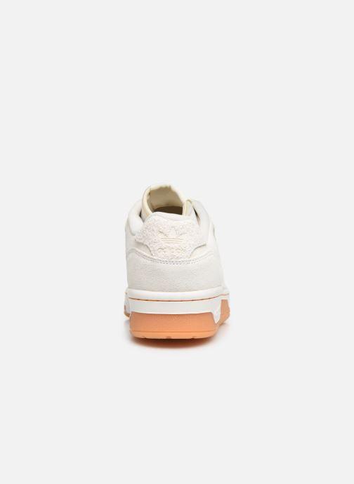 Baskets adidas originals Rivalry Low Blanc vue droite