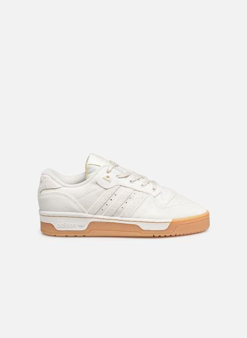 Baskets adidas originals Rivalry Low Blanc vue derrière