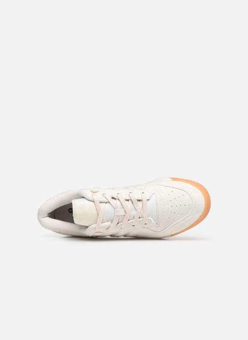 Baskets adidas originals Rivalry Low Blanc vue gauche