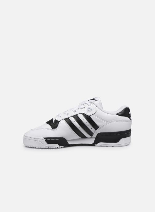 Baskets adidas originals Rivalry Low Blanc vue face