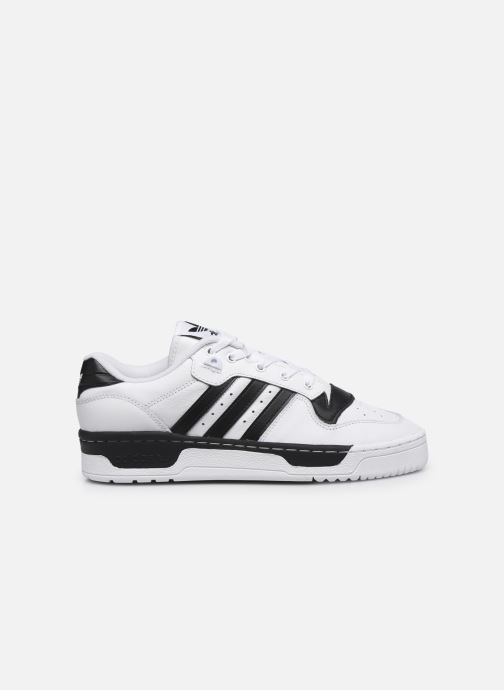 Baskets adidas originals Rivalry Low Blanc vue derrière