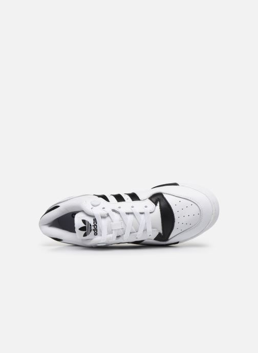 Baskets adidas originals Rivalry Low Blanc vue gauche