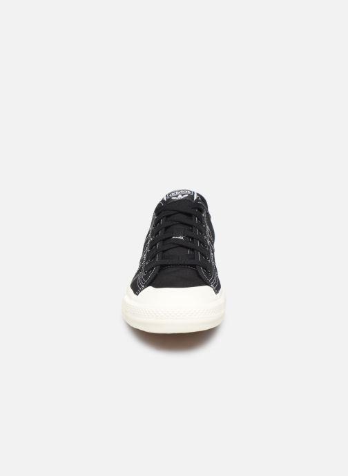Sneaker adidas originals Nizza RF schwarz schuhe getragen