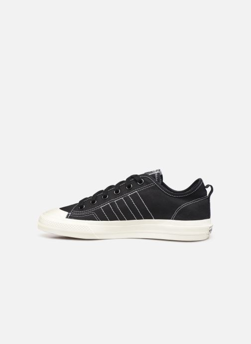 Sneaker adidas originals Nizza RF schwarz ansicht von vorne