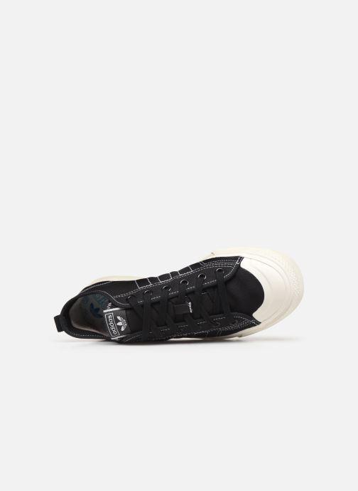 Sneaker adidas originals Nizza RF schwarz ansicht von links