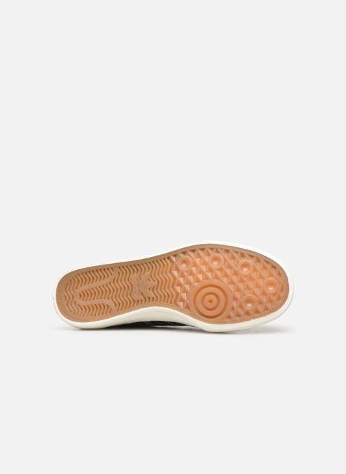 Sneaker adidas originals Nizza RF schwarz ansicht von oben