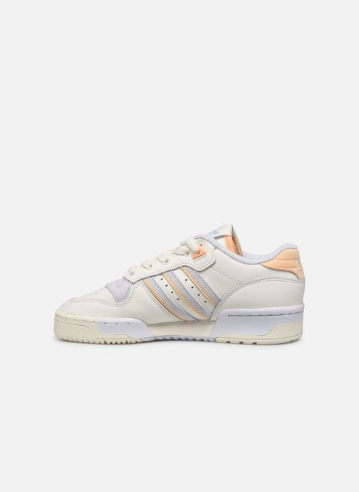 Sneakers adidas originals Rivalry Low W Hvid se forfra