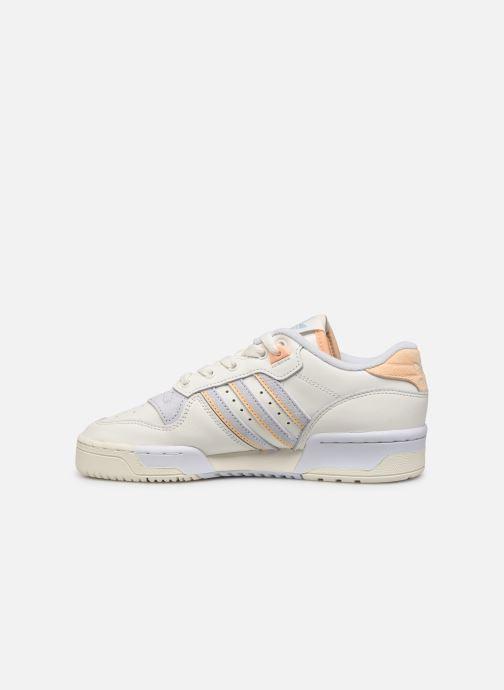 Sneakers adidas originals Rivalry Low W Wit voorkant