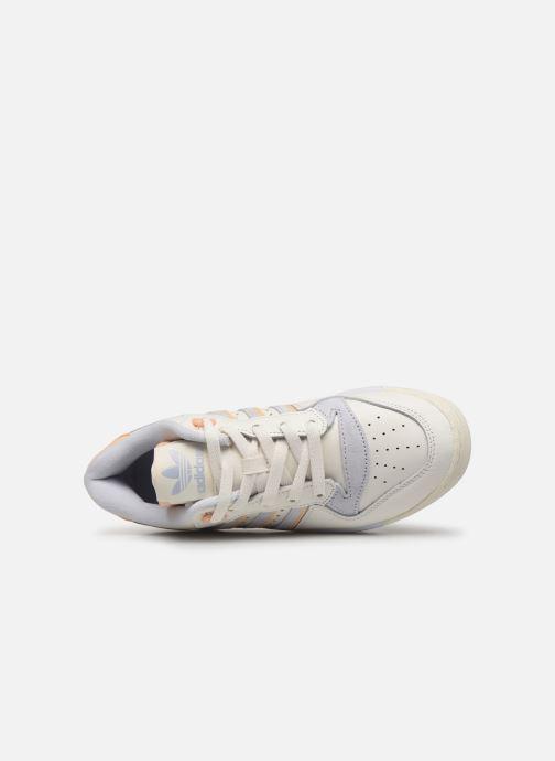 Baskets adidas originals Rivalry Low W Blanc vue gauche