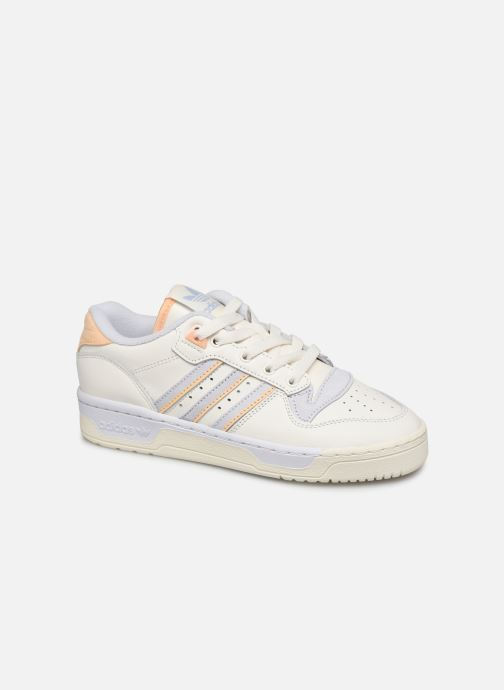 Sneakers adidas originals Rivalry Low W Hvid detaljeret billede af skoene