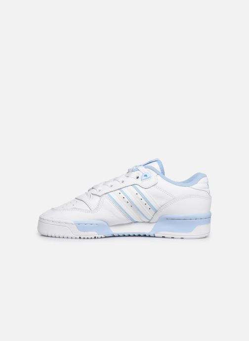 Baskets adidas originals Rivalry Low W Blanc vue face