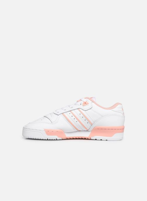 Trainers adidas originals Rivalry Low W White front view