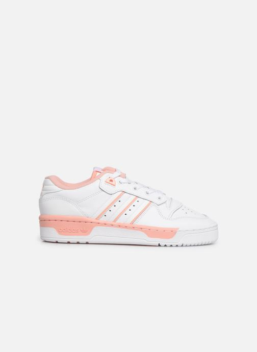 Trainers adidas originals Rivalry Low W White back view