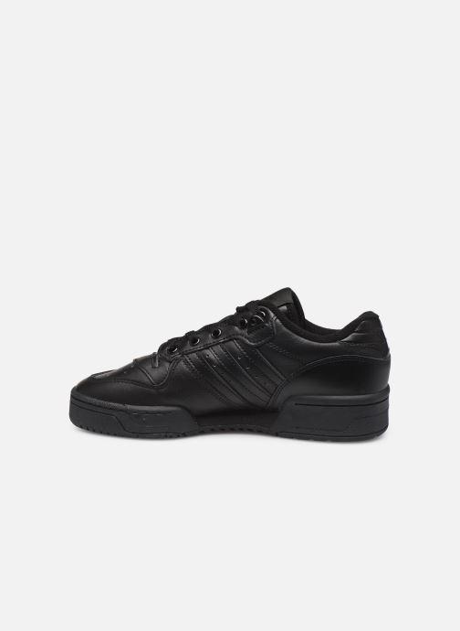 Baskets adidas originals Rivalry Low W Noir vue face