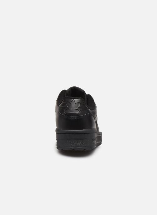 Baskets adidas originals Rivalry Low W Noir vue droite