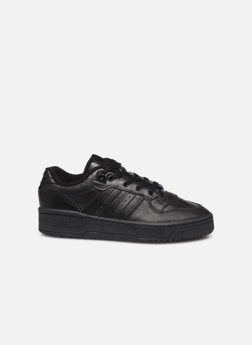 Baskets adidas originals Rivalry Low W Noir vue derrière