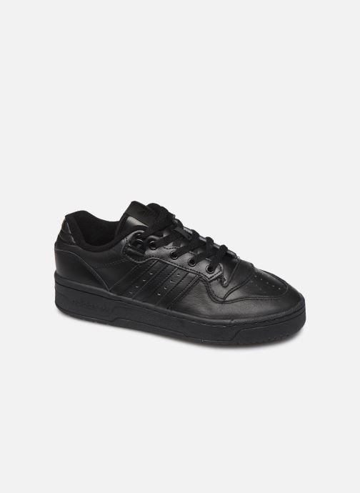 Baskets adidas originals Rivalry Low W Noir vue détail/paire