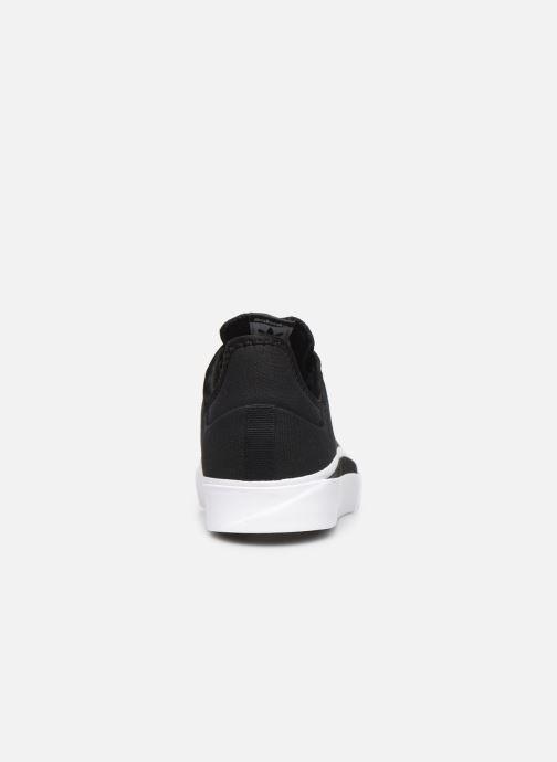 Sneaker adidas originals Sabalo schwarz ansicht von rechts