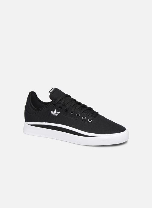 Sneakers adidas originals Sabalo Sort detaljeret billede af skoene