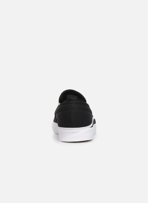 Sneakers adidas originals Sabalo SLIP Zwart rechts