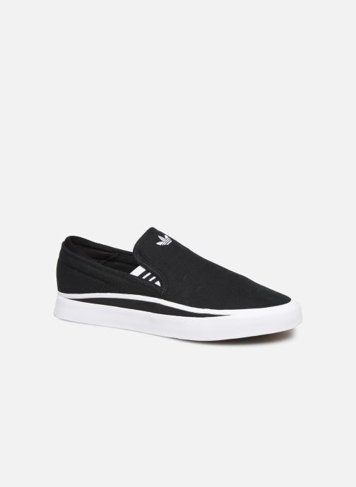Sneakers adidas originals Sabalo SLIP Sort detaljeret billede af skoene