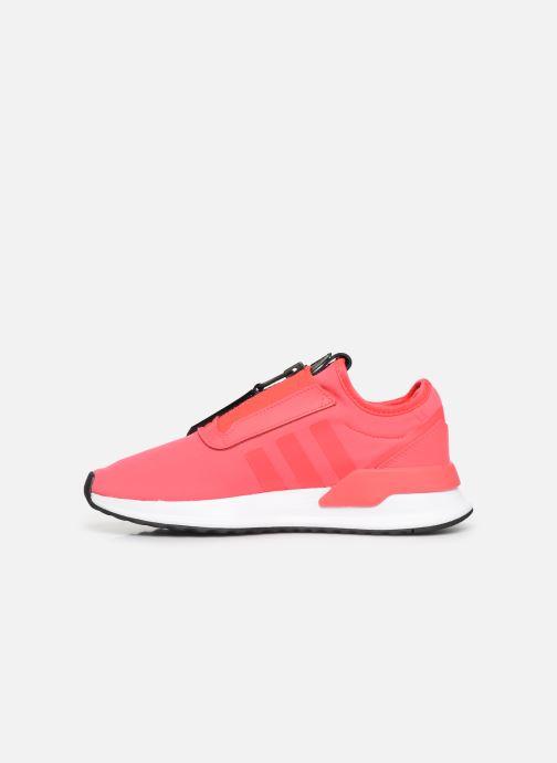 Sneakers adidas originals U_Path Run Zip W Pink se forfra