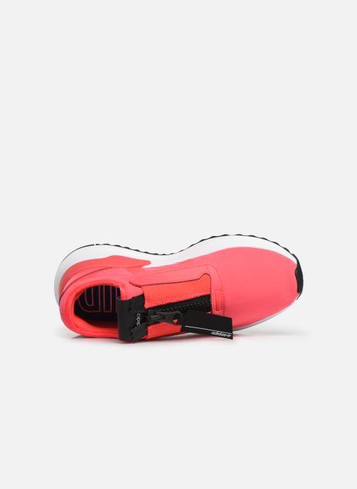 Baskets adidas originals U_Path Run Zip W Rose vue gauche
