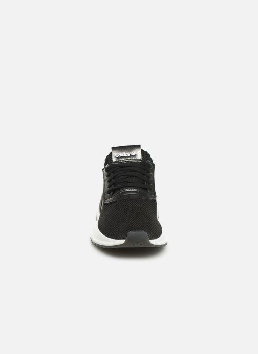 Baskets adidas originals U_Path X W Noir vue portées chaussures