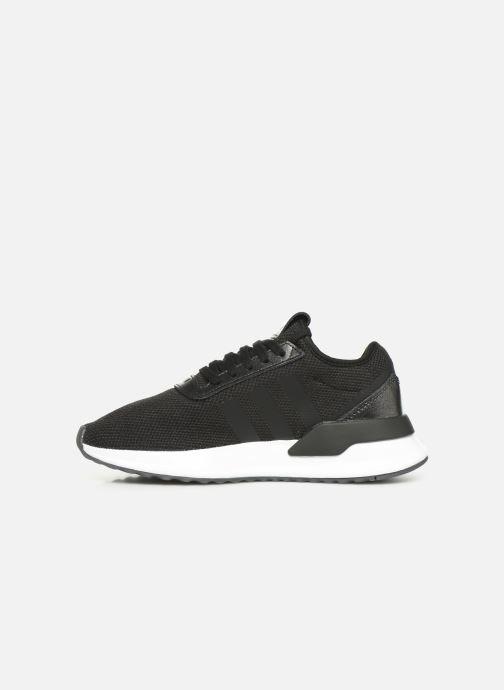 Sneakers adidas originals U_Path X W Zwart voorkant