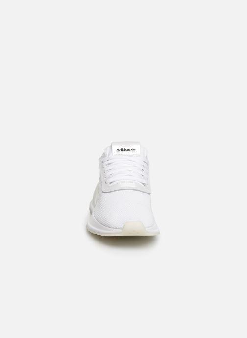 Deportivas adidas originals U_Path X W Blanco vista del modelo