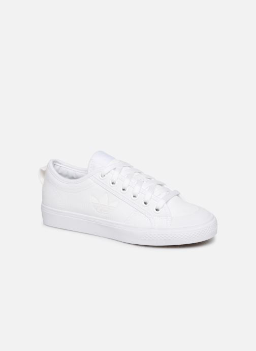 adidas originals Nizza Trefoil W (Wit) Sneakers chez