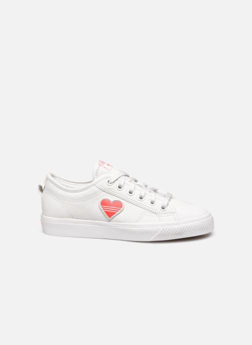 Sneaker adidas originals Nizza Trefoil W weiß ansicht von hinten
