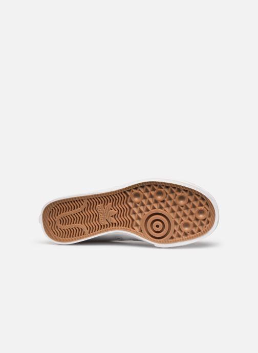 Sneaker adidas originals Nizza Trefoil W weiß ansicht von oben
