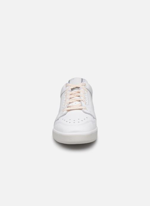 Baskets adidas originals Slamcourt W Blanc vue portées chaussures