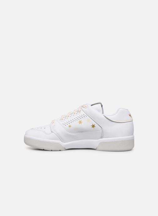 Baskets adidas originals Slamcourt W Blanc vue face