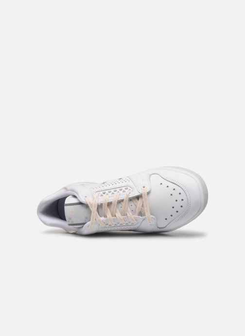 Baskets adidas originals Slamcourt W Blanc vue gauche
