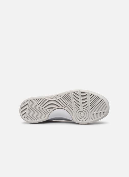 Baskets adidas originals Slamcourt W Blanc vue haut