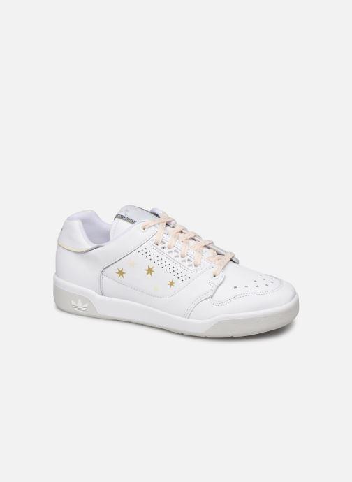 Baskets adidas originals Slamcourt W Blanc vue détail/paire