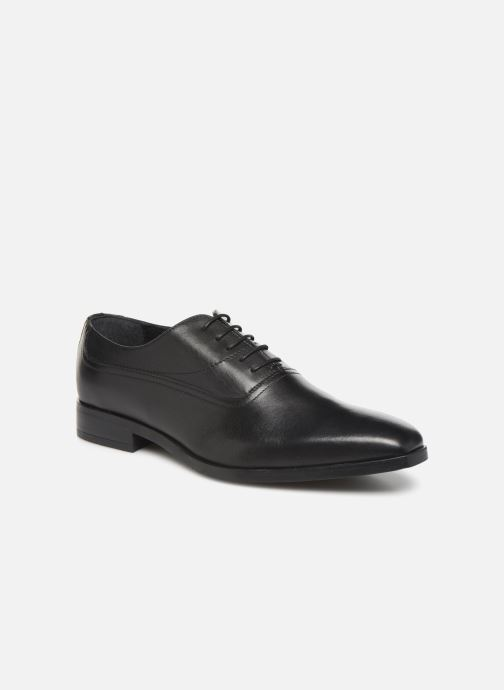 Lace-up shoes Marvin&co Robeli Black detailed view/ Pair view